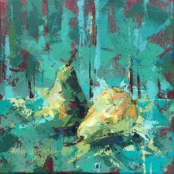akryl,podobrazie,obraz,lipowska,malarstwo - Obrazy - Wyposażenie wnętrz