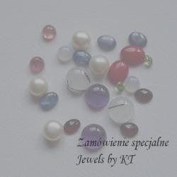 JewelsbyKT,kolczyki,srebro - Kolczyki - Biżuteria