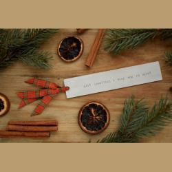 zakladka last christmas - Zakładki do książek - Akcesoria
