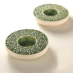 lampion,świecznik,ceramika,rękodzieło - Ceramika i szkło - Wyposażenie wnętrz