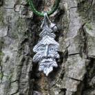 Wisiory duch dębu,greenman,dębowy,żołędzie,liść