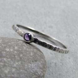 delikatny,drobny,minimalistyczny,surowy - Pierścionki - Biżuteria