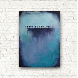 obraz,abstrakcja,płótno - Obrazy - Wyposażenie wnętrz