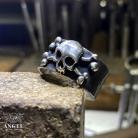 Dla mężczyzn biżuteria męska,pierścień z czaszką