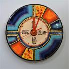 Zegary Beata Kmieć,zegar,ceramika