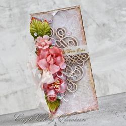 ślub,życzenia,kwiaty,ornamenti,ślubna - Kartki okolicznościowe - Akcesoria