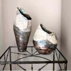 wazon,wazon ceramiczny,wazony,raku - Ceramika i szkło - Wyposażenie wnętrz