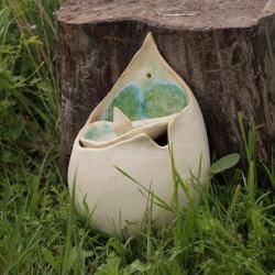 ceramika,pojemnik,na sól - Ceramika i szkło - Wyposażenie wnętrz