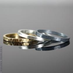 Proste,minimalistyczne,kolotowe - Pierścionki - Biżuteria