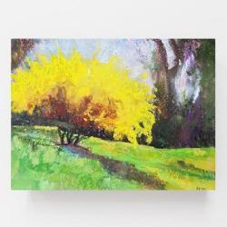 pastele,drzewko - Obrazy - Wyposażenie wnętrz