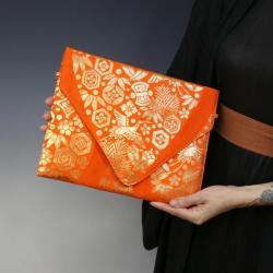elegancka kopertówka,unikatowa torebka do ręki - Do ręki - Torebki