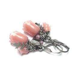 delikatne,romantyczne,kwiaty - Kolczyki - Biżuteria
