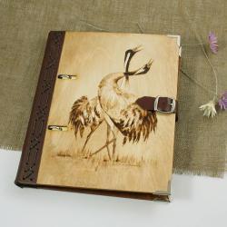 żurawie,notatnik,szkicownik - Notesy - Akcesoria