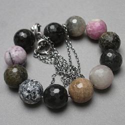 turmaliny,kamienie,minerały - Naszyjniki - Biżuteria