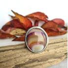 Pierścionki agat,pierścionek,prezent,srebro,masywny