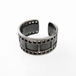 srebro,klisza,pierścionek,oksyda - Pierścionki - Biżuteria