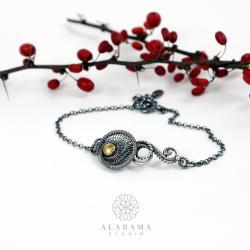 srebrna bransoletka,Walentynki,Dzień Kobiet - Bransoletki - Biżuteria
