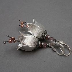dzwonki,kwiaty,romantyczne - Kolczyki - Biżuteria