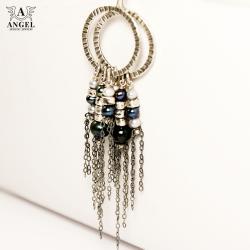 kolczyki z perłami,damska biżuteria - Kolczyki - Biżuteria