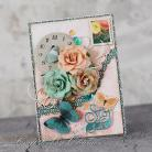 Kartki okolicznościowe kwiaty,motyle,urodziny,sto lat