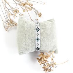 bransoletka z koralików,bransoletka indiańska - Bransoletki - Biżuteria
