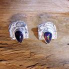 Kolczyki kolczyki srebrne z opalami