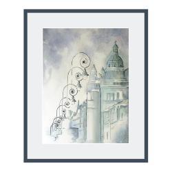 na ścianę,miasto,grafiki,grafika,architektura,Łódź - Ilustracje, rysunki, fotografia - Wyposażenie wnętrz