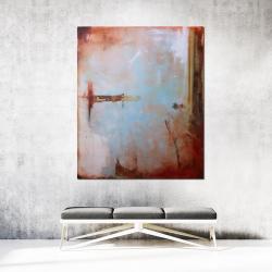 obraz olejny,malarstwo,abstrakcja,nowoczesny - Obrazy - Wyposażenie wnętrz