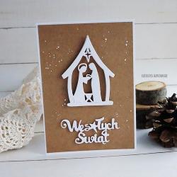 Boże Narodzenie,eco,kartka - Kartki okolicznościowe - Akcesoria