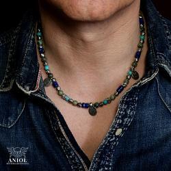biżuteria męska,naszynik etniczny - Naszyjniki - Biżuteria