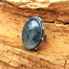 Pierścionki kwarc,srebrny,turmalinowy,szary,srebro,czerń,retro