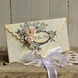 w dniu ślubu,ślub,wesele,młodej parze, - Kartki okolicznościowe - Akcesoria