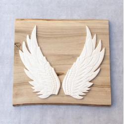 skrzydła,dekor,na ścianę,ceramika - Ceramika i szkło - Wyposażenie wnętrz