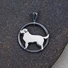 Wisiory wisiorek,srebrny,golden retriever,pies