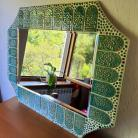 Ceramika i szkło lustro ceramiczne ceramika mozaika ceramiczna
