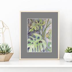 na ścianę,dekoracja,prezent,akwarela,kwiatki, - Ilustracje, rysunki, fotografia - Wyposażenie wnętrz