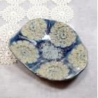 Ceramika i szkło mydelniczka,boho,łazienka,serwetka