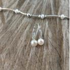 Kolczyki drobne,perłowe