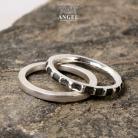 Pierścionki obrączka,komplet obrączek,pierścień
