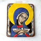 Ceramika i szkło Beata Kmieć,ikona ceramiczna,Pneumatofora