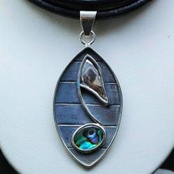wisiory,srebro,biżuteria,nutka,muszla - Wisiory - Biżuteria