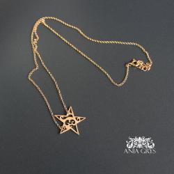 gwiazdka,christmas gift,prezent,wisiorek - Wisiory - Biżuteria