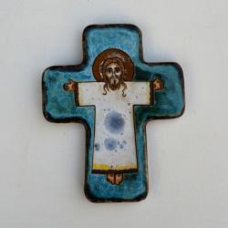 Beata Kmieć,ikona,Chrystus Zmartwychwstały - Ceramika i szkło - Wyposażenie wnętrz