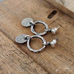 małe,nowoczesne,kółeczka,sztyfty - Kolczyki - Biżuteria