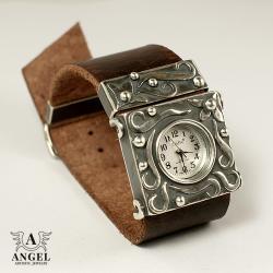 zegarek ze srebra,damski zegarek - Inne - Biżuteria