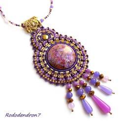 niebanalny,efektowny,okazały,bogaty, - Wisiory - Biżuteria