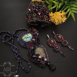 roślinny,ekskluzywny,baśniowy,tajemniczy - Komplety - Biżuteria