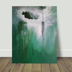 morze,obraz,akryl,łódź - Obrazy - Wyposażenie wnętrz