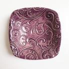 Ceramika i szkło ceramika,szkliwo,fiolet