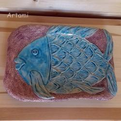 misa rzeżbiona ceramika tradycja ryba - Ceramika i szkło - Wyposażenie wnętrz